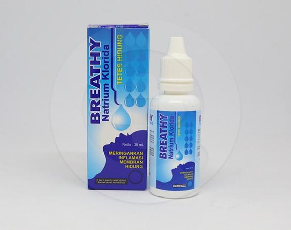 Breathy tetes hidung adalah obat untuk meringankan peradangan pada membran hidung