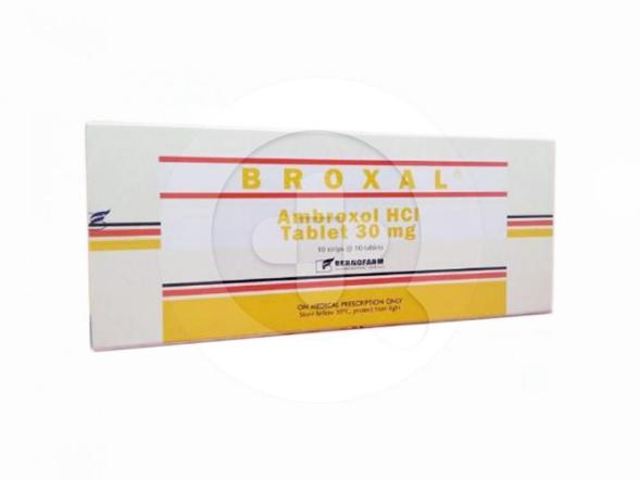 Broxal tablet adalah obat untuk mengatasi batuk berdahak dan membantu mengencerkan dahak.