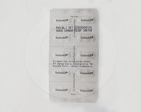 Budenofalk adalah obat untuk menangani gejala ringan sampai sedang di usus