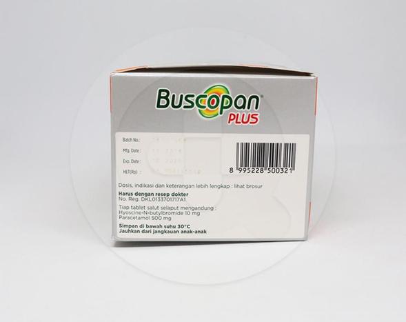 Buscopan adalah obat untuk mengurangi nyeri akibat kram