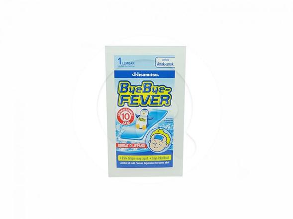 Bye Bye Fever Untuk Anak digunakan untuk menurunkan demam dan sakit kepala pada anak.