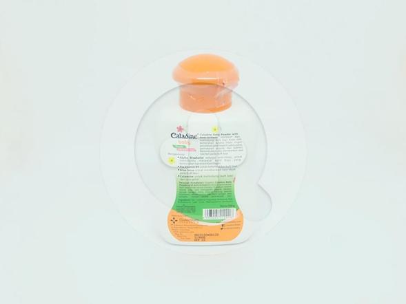 Caladin Baby Powder bedak tabur untuk bayi untuk merawat dan melindungi kulit bayi dari iritasi dan melembutkan kulit bayi.