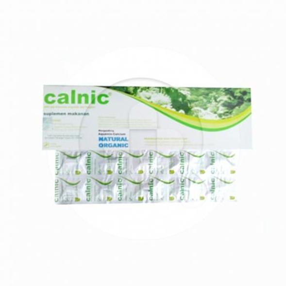 Calnic kaplet merupakan suplemen untuk memenuhi kebutuhan kalsium.