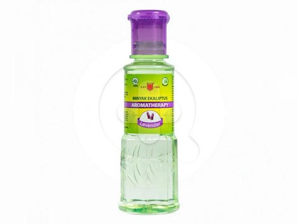 Cap Lang Minyak Eukaliptus Aromatherapy Lavender digunakan untuk membantu meredakan perut kembung, mual, masuk angin, sakit perut dan gatal-gatal akibat gigitan serangga.