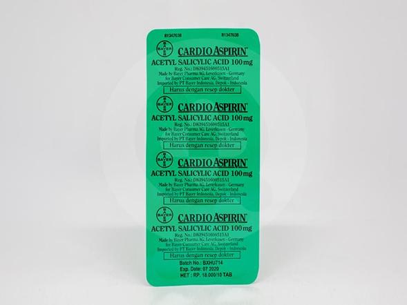 Cardio Aspirin digunakan untuk mencegah pembekuan darah dan mengurangi risiko terjadinya stroke ringan
