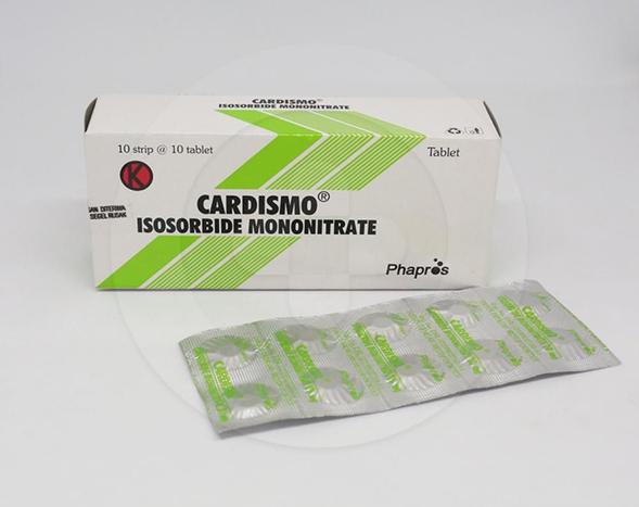 Cardismo digunakan sebagai pengobatan jangka panjang untuk pencegahan nyeri dada