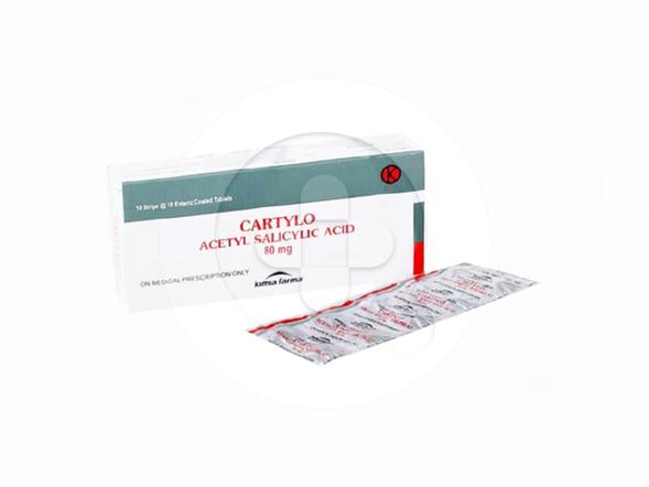 Cartylo tablet adalah obat untuk mengatasi nyeri ringan hingga sedang, demam, dan peradangan.