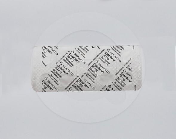 Catafalm tablet 50 mg