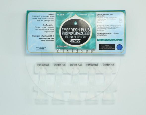 Cendo Eyefresh Plus dapat mencegah terjadinya iritasi atau mata kering