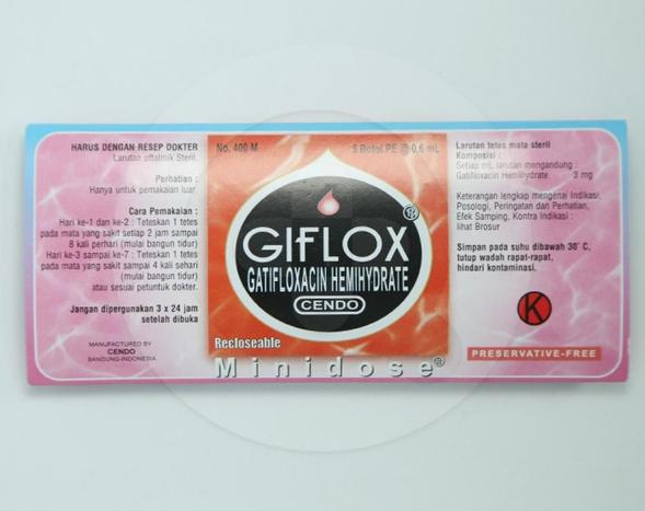 Cendo Giflox dapat mengatasi infeksi pada mata