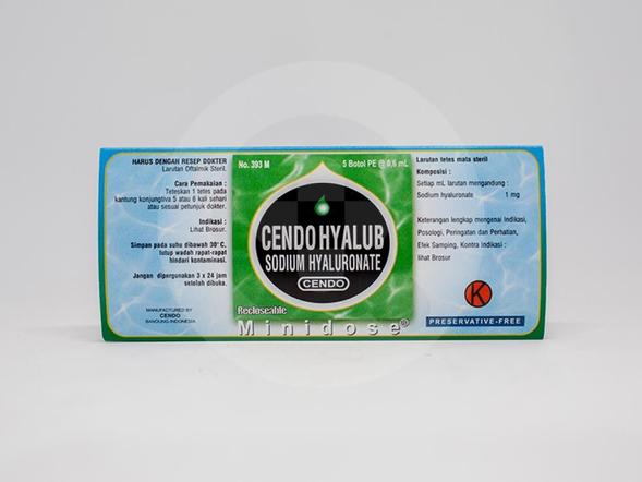 Cendo Hyalub Minidose dapat menghilangkan iritasi pada mata akibat mata kering