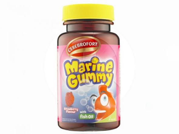 Cerebrofort Marine Gummy Strawberry merupakan gummy yang baik untuk perkembangan otak dalam mencapai masa tumbuh-kembang yang optimal.
