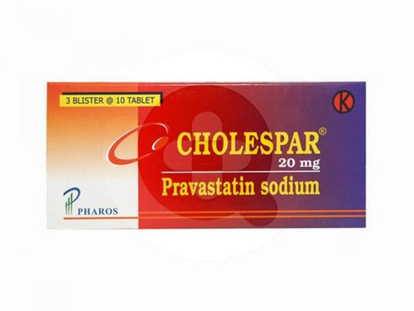 Cholespar tablet adalah obat untuk mengontrol  kadar kolesterol dan trigliserida pada pasien dengan kondisi menumpuknya lemak di dalam darah (hiperlipidemia).
