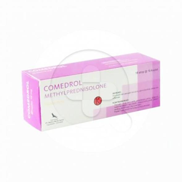Comedrol kaplet digunakan untuk mengobati rematik, asma bronkhial, alergi dan peradangan.