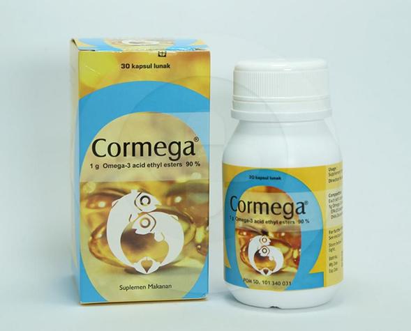 Cormega adalah suplemen makanan yang berguna untuk memelihara kesehatan