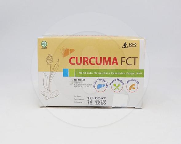 Curcuma FCT adalah jamu untuk membantu memelihara kesehatan fungsi hati dan memperbaiki nafsu makan