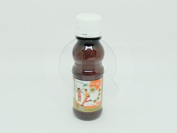 Curcuma Plus Gold Rasa Jeruk 100 ml digunakan untuk memperbaiki nafsu makan, memelihara kesehatan dan memenuhi kebutuhan vitamin selama masa pertumbuhan.