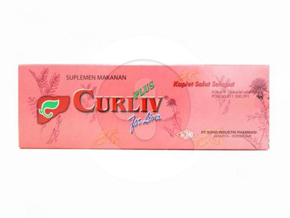 Curliv Plus kaplet merupakan suplemen untuk memelihara kesehatan hati.