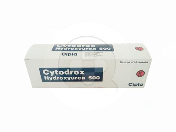 Cytodrox tablet digunakan untuk terapi pasien leukimia mieloid kronik fase kronik atau akselerasi.