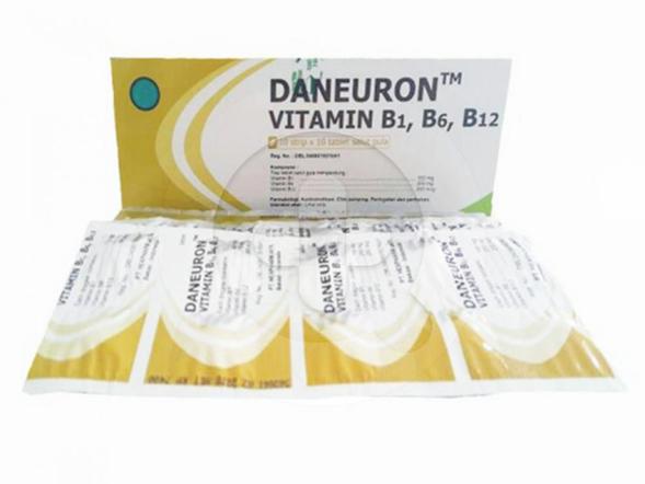 Daneuron tablet digunakan untuk pengobatan kekurangan vitamin B1, vitamin B6 dan vitamin B12 seperti pada penyakit peradangan saraf (polineuritis).