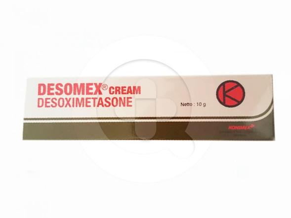 Desomex krim digunakan untuk meredakan peradangan dan gatal kulit yang responsif terhadap kortikosteroid.