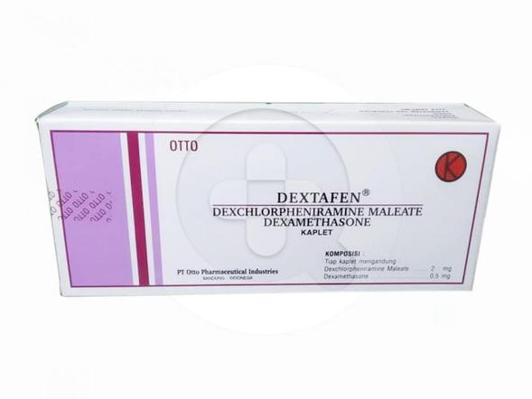Dextafen kaplet adalah obat untuk mengatasi alergi.