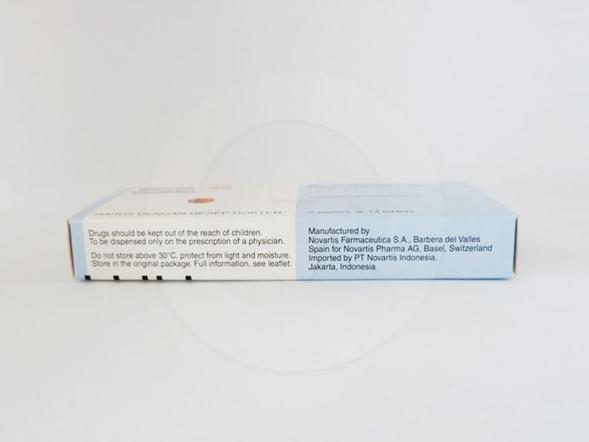 Diovan tablet 40 mg berfungsi untuk mengobati tekanan darah tinggi.