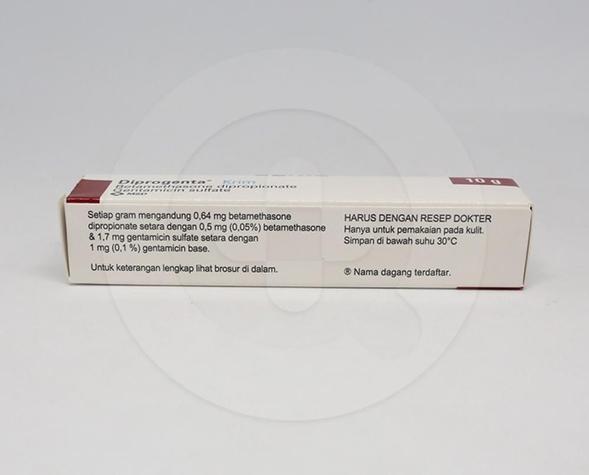Diprogenta krim adalah obat luar untuk mengurangi peradangan infeksi sekunder