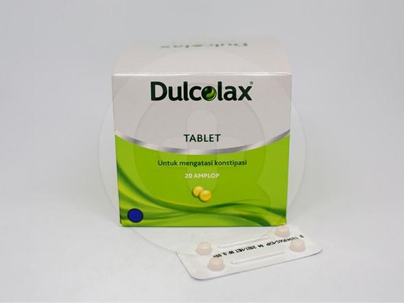 Dulcolax tablet digunakan untuk meredakan sembelit