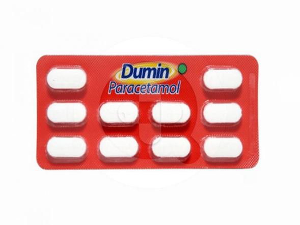 Dumin tablet adalah obat untuk meringankan sakit kepala, sakit gigi, nyeri sendi, dan menurunkan demam.