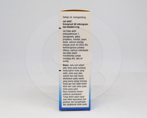 Duotrav untuk menurunkan tekanan dalam bola mata
