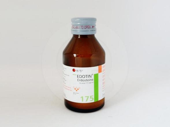 Edotin sirup kering 60 ml obat yang digunakan untuk mengencerkan dahak.