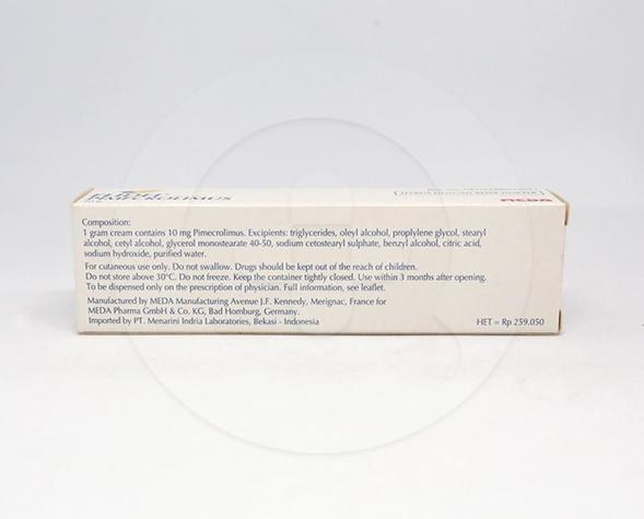 Elidel digunakan untuk perawatan terapi jangka pendek dan panjang pada dermatitis atopik