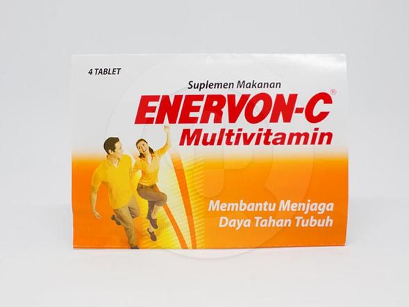 Enervon C merupakan suplemen yang digunakan untuk menjaga daya tahan tubuh