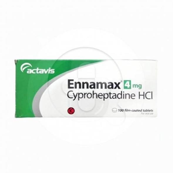 Ennamax tablet adalah obat untuk mengatasi sakit kepala sebelah (migrain) dan gejala alergi.
