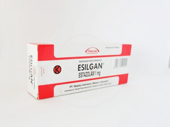 Esilgan tablet 1 mg berfungsi untuk menangani segala macam gangguan tidur karena gugup, cemas, tegang psikosis dan gangguan lain seperti setelah operasi, trauma.