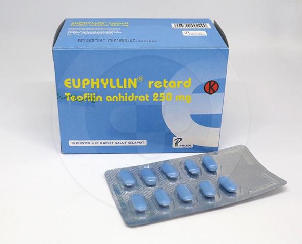 Euphyllin Retard dapat meringankan serangan asma bronkial