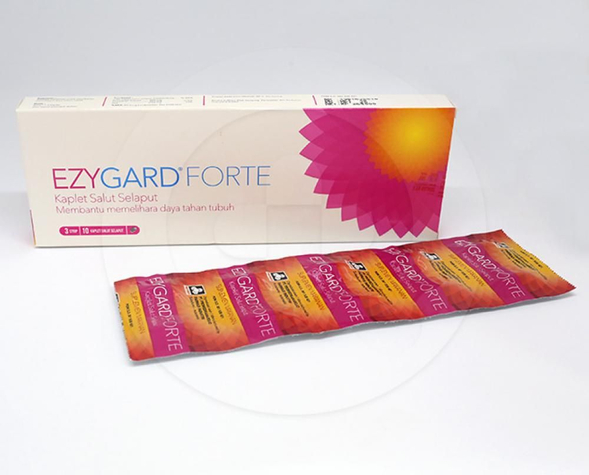 Ezygard Forte diindikasikan sebagai suplemen untuk membantu memperbaiki daya tahan tubuh