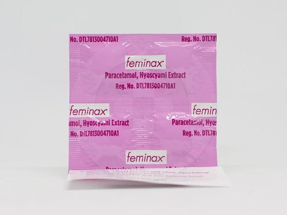 Feminax tablet untuk mengurangi rasa nyeri pada saat haid