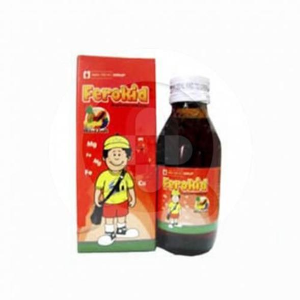 Ferokid sirup adalah suplemen untuk memenuhi kebutuhan vitamin dan mineral serta mengatasi anemia.