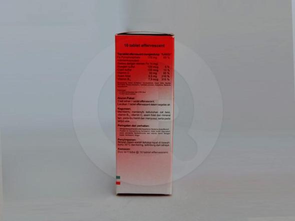 Ferospat rasa strawberry tablet adalah obat untuk membantu memenuhi kebutuhan zat besi, vitamin B, vitamin C, asam folat dan mineral lain.