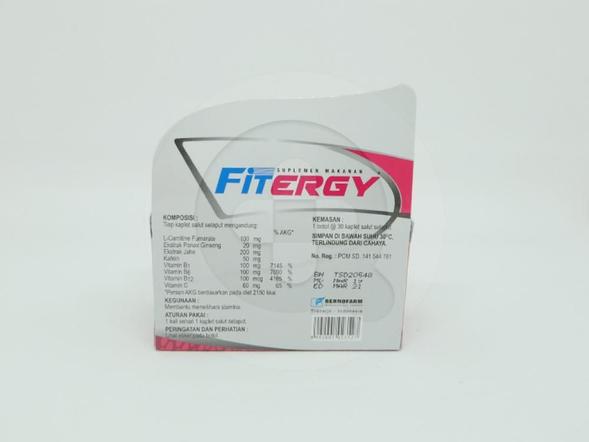 Fitergy Kaplet digunakan untuk memelihara stamina.