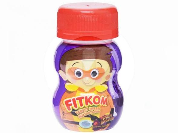 Fitkom tablet hisap digunakan sebagai multivitamin untuk mendukung kesehatan anak.