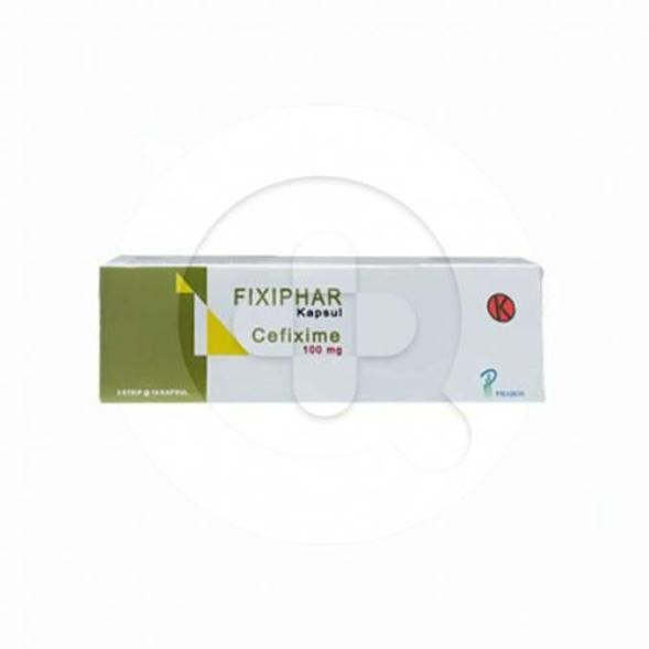 Fixiphar kapsul adalah obat untuk mengatasi berbagai infeksi yang disebabkan oleh bakteri.