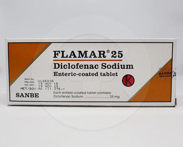 Flamar adalah obat mengobati nyeri sendi