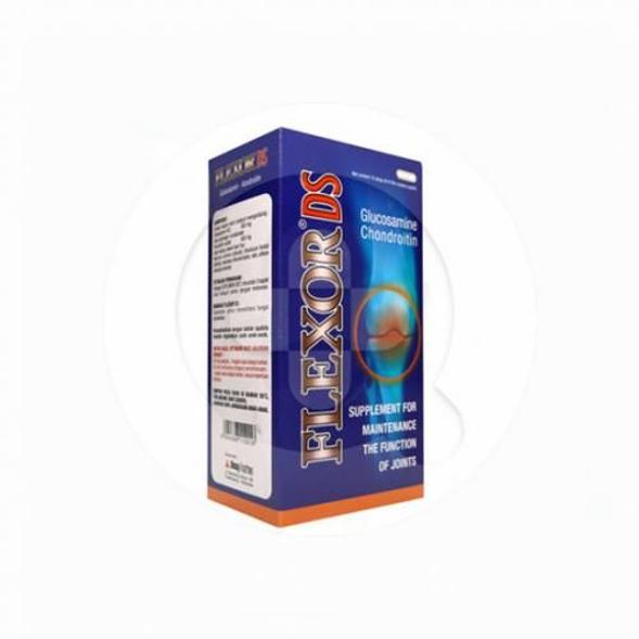 Flexor DS kaplet merupakan suplemen untuk memelihara kesehatan persendian.