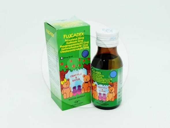 Flucadex Sirup 60 ml merupakan obat untuk meringankan gejala flu.