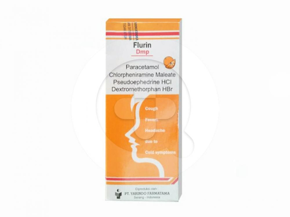 Flurin DMP sirup adalah obat untuk meringankan gejala flu.