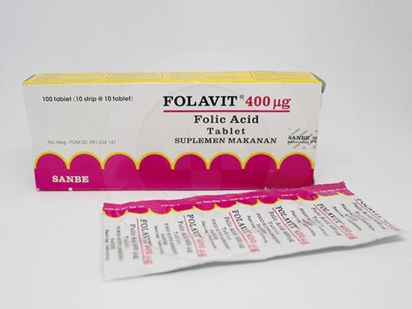 Folavit adalah suplemen untuk memenuhi kebutuhan asam folat bagi ibu hamil dan menyusui