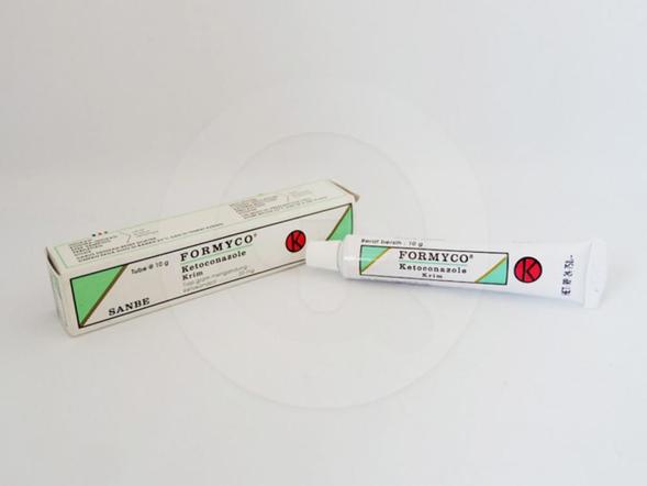 Formyco krim 10 g adalah obat untuk pengobatan infeksi jamur dermatofit pada kulit.